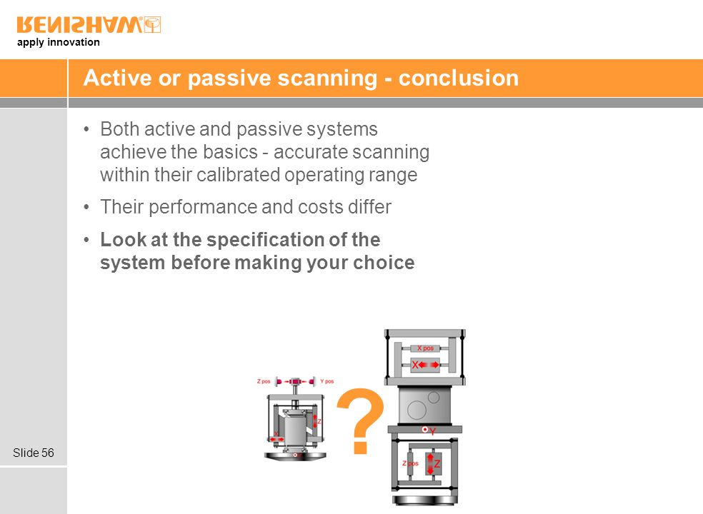 Active or passive scanning - conclusion