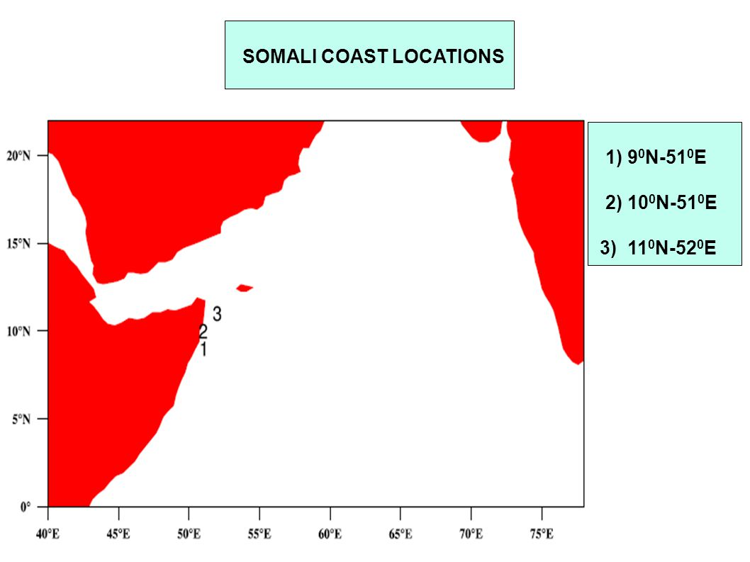 SOMALI COAST LOCATIONS