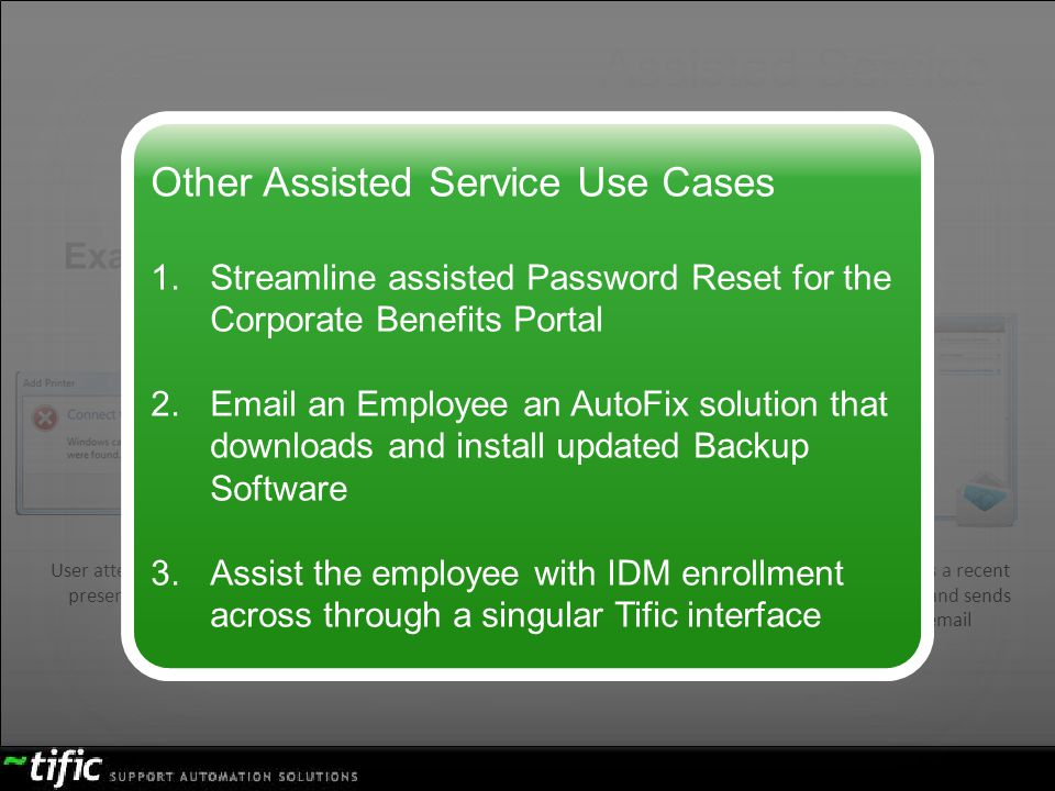 Assisted Service Other Assisted Service Use Cases