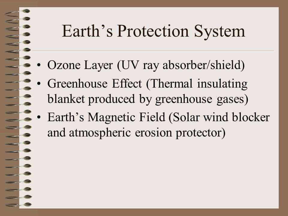 Earth's Protection System