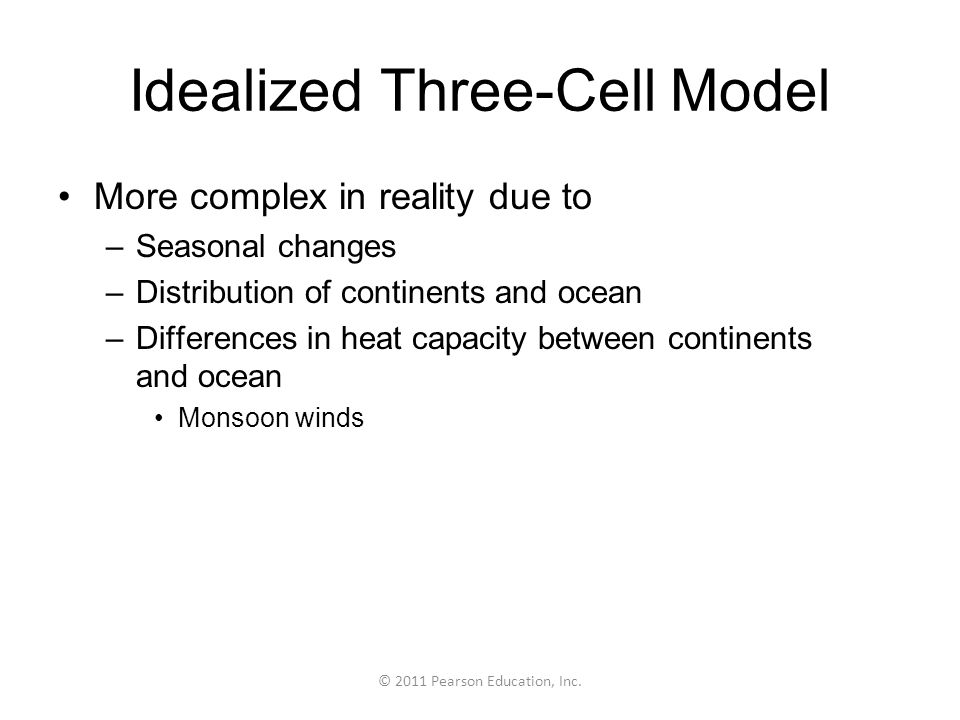Idealized Three-Cell Model