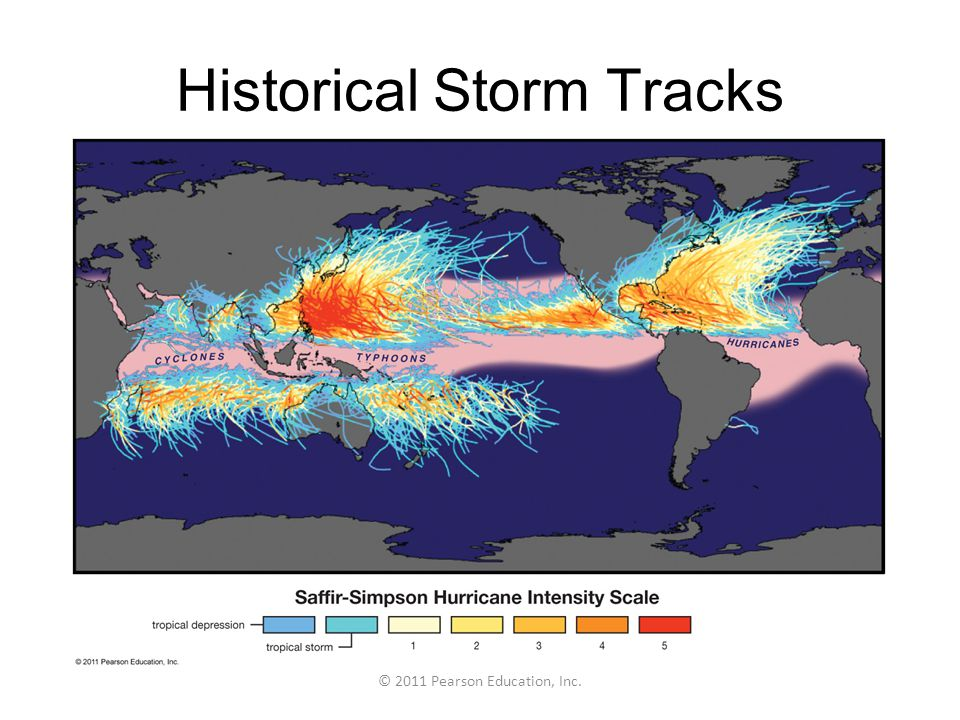 Historical Storm Tracks