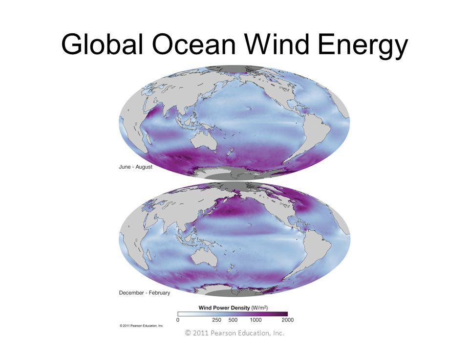 Global Ocean Wind Energy