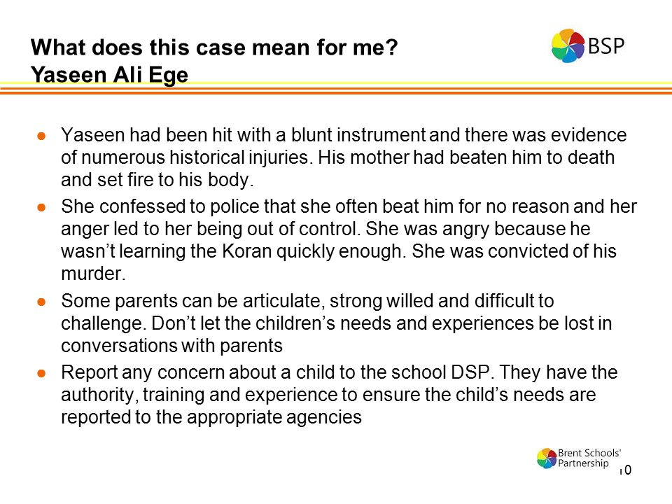 What does this case mean for me Yaseen Ali Ege