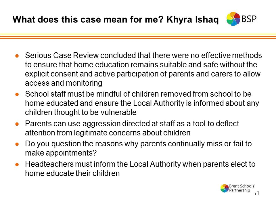 What does this case mean for me Khyra Ishaq