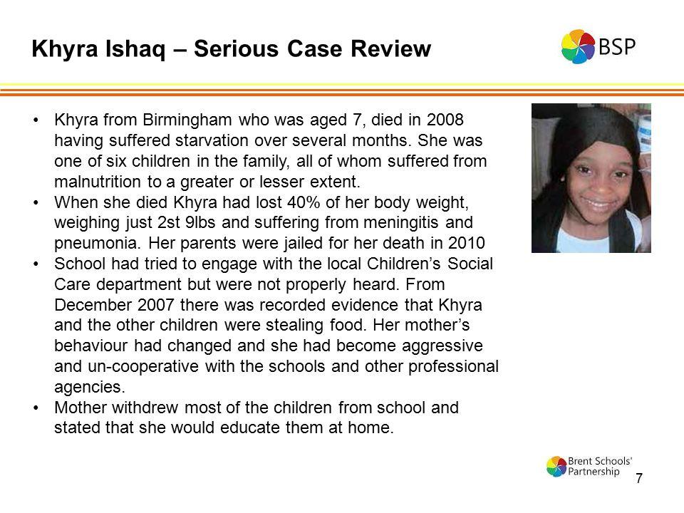 Khyra Ishaq – Serious Case Review
