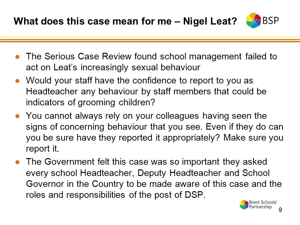 What does this case mean for me – Nigel Leat