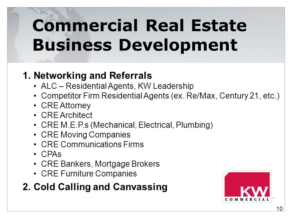 Commercial Real Estate Business Development