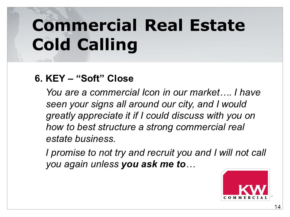 Commercial Real Estate Cold Calling