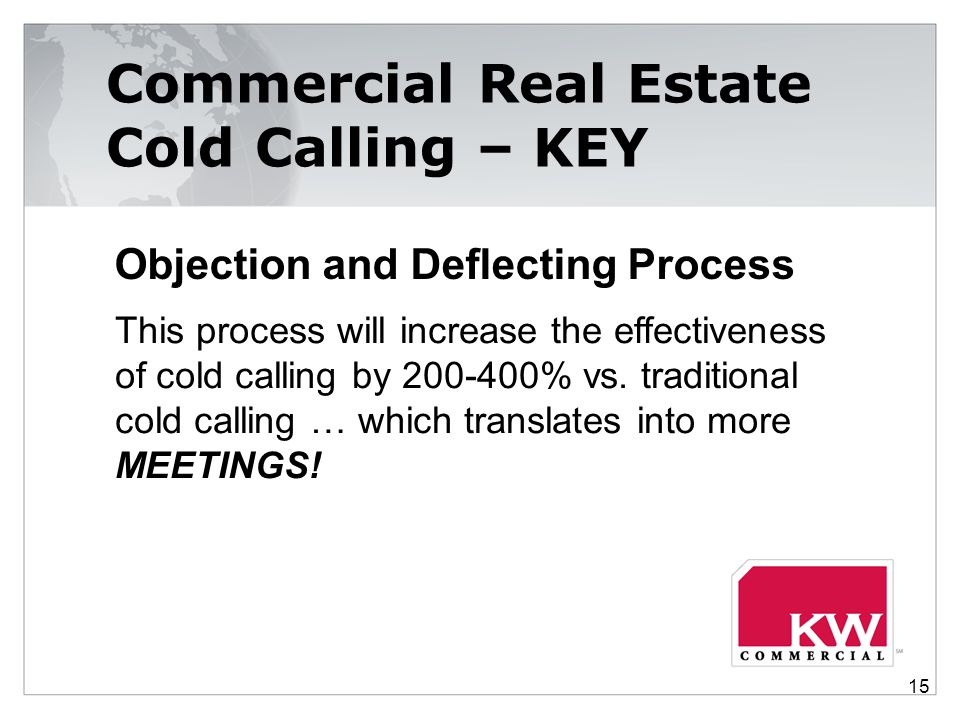 Commercial Real Estate Cold Calling – KEY