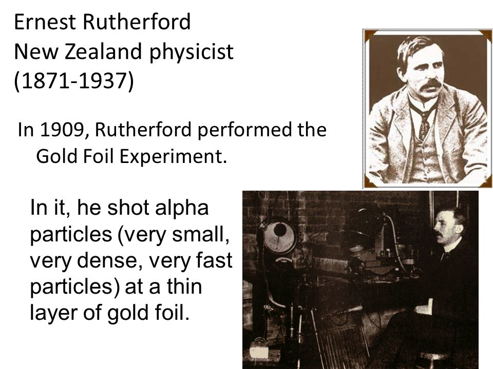 Ernest Rutherford New Zealand physicist (1871-1937)