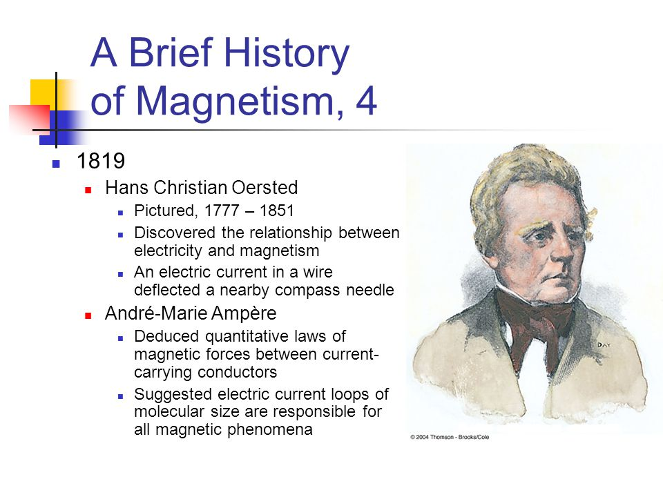 A Brief History of Magnetism, 4