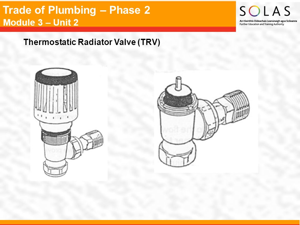 Thermostatic Radiator Valve (TRV)