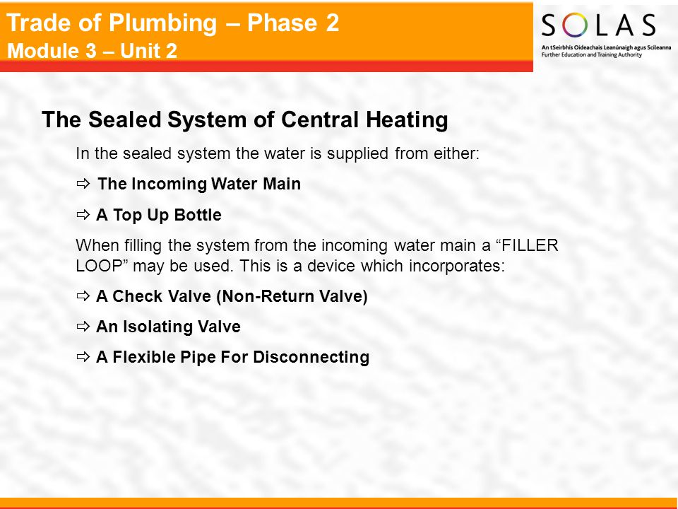 The Sealed System of Central Heating