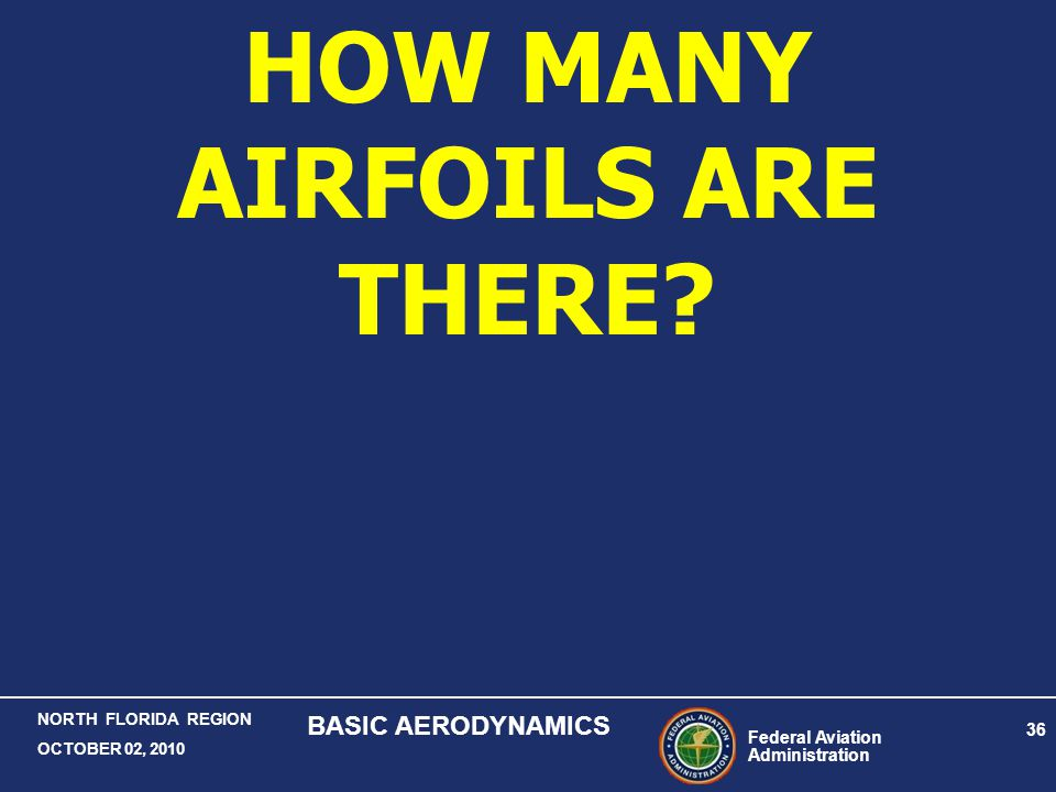 HOW MANY AIRFOILS ARE THERE