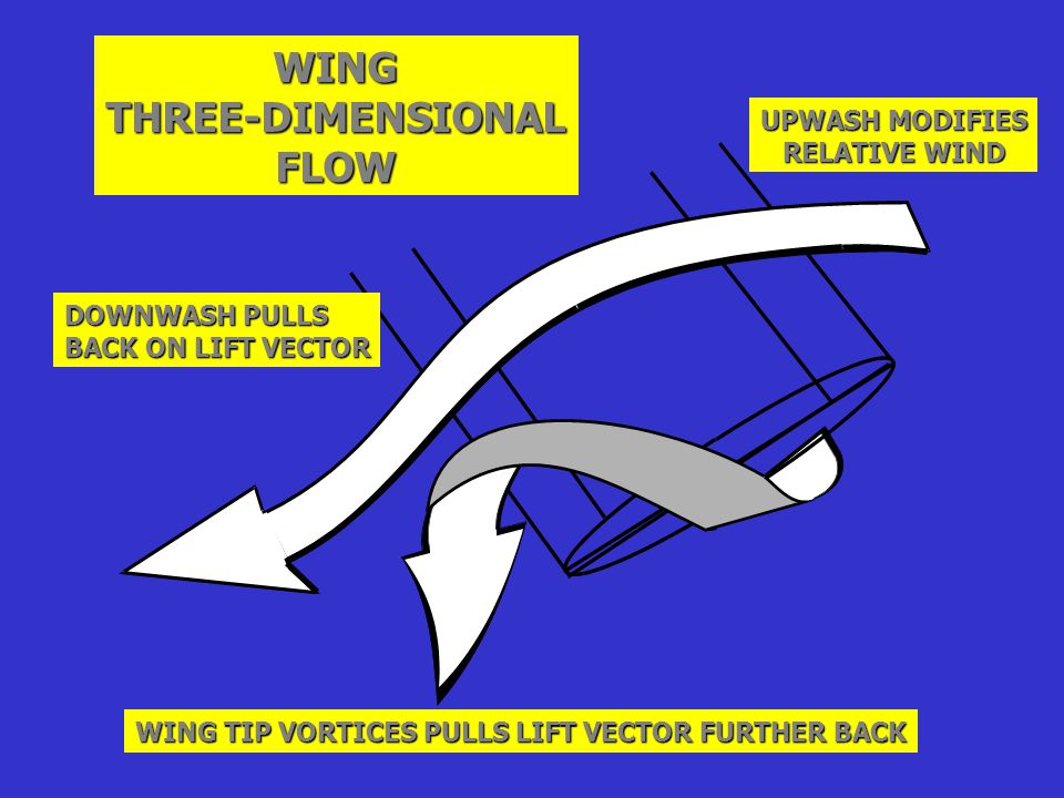 WING THREE-DIMENSIONAL FLOW