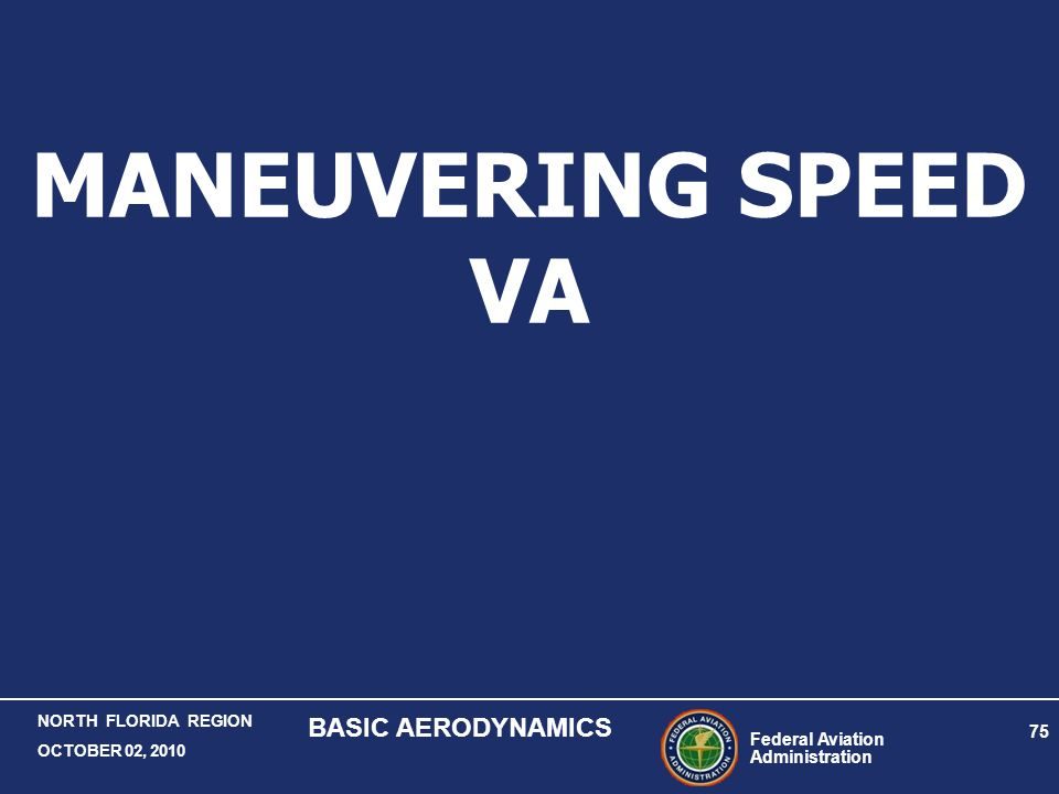 MANEUVERING SPEED VA