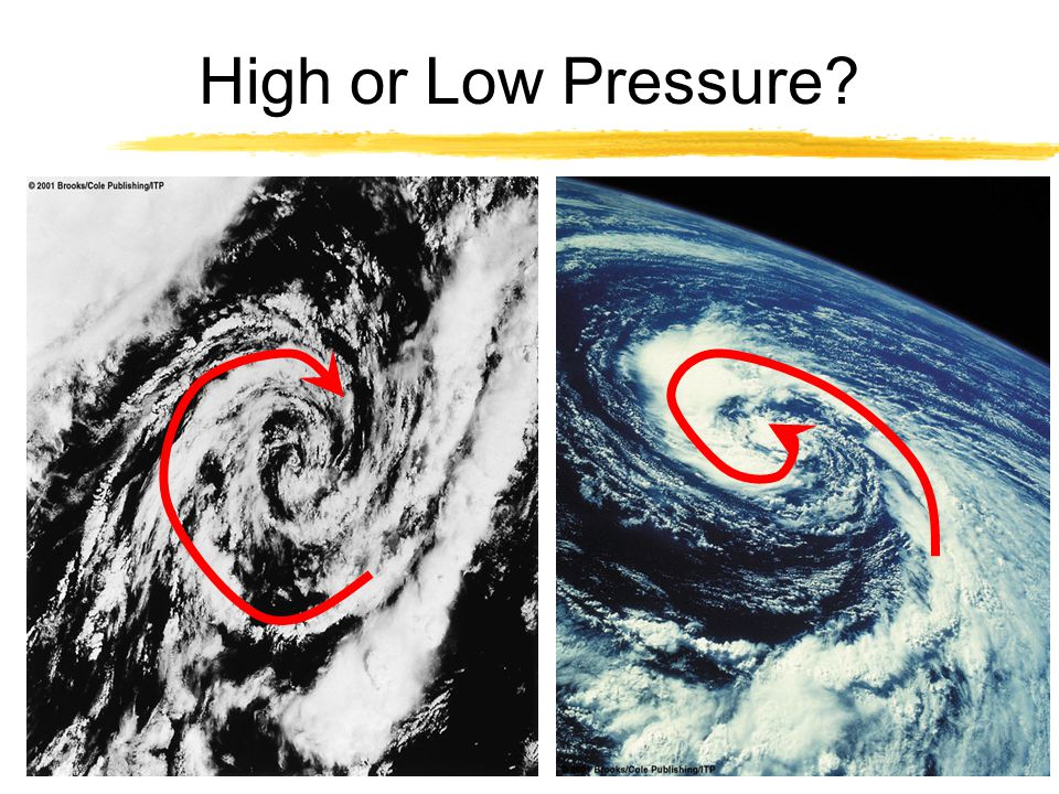High or Low Pressure