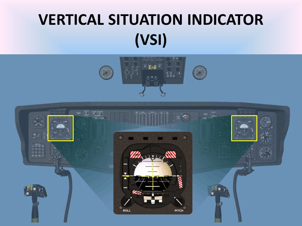 VERTICAL SITUATION INDICATOR (VSI)