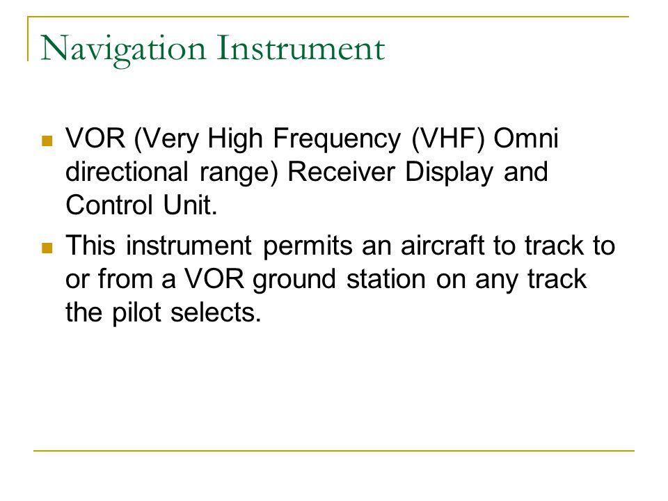 Navigation Instrument