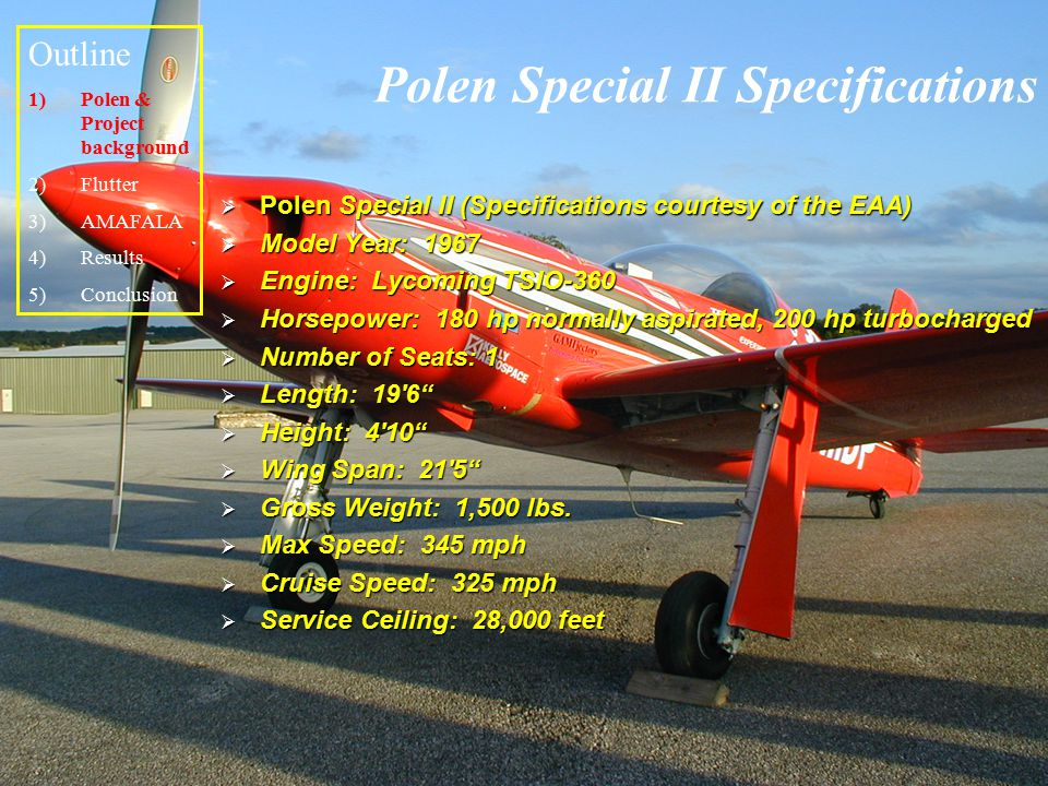 Polen Special II Specifications