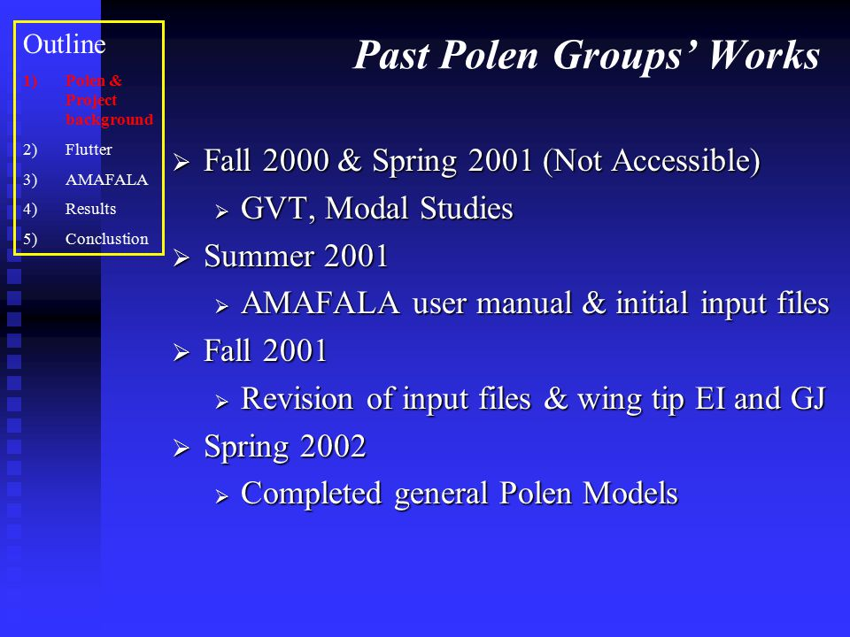 Past Polen Groups' Works