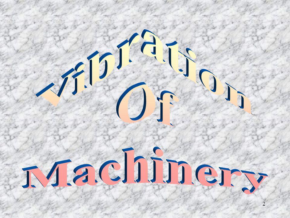 Vibration Of Machinery