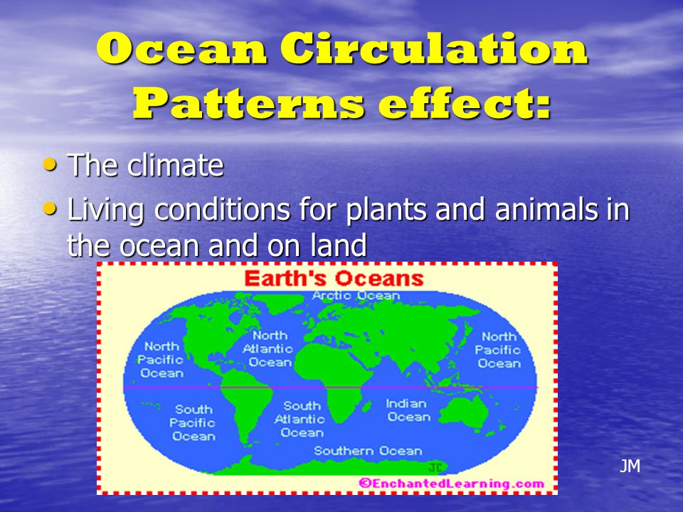 Ocean Circulation Patterns effect: