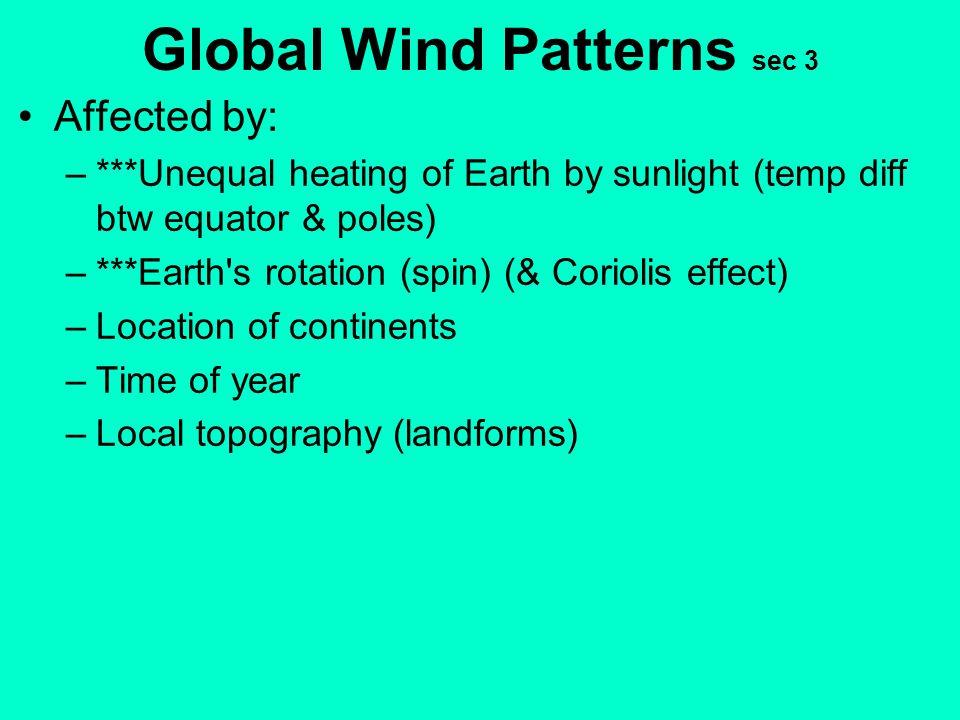 Global Wind Patterns sec 3