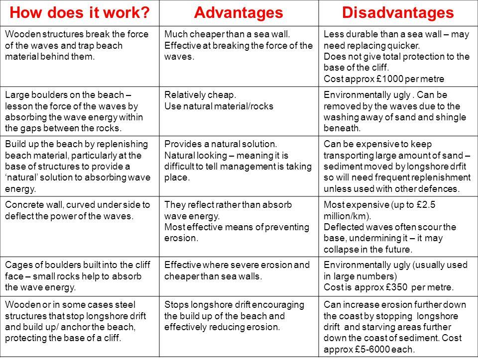 How does it work Advantages Disadvantages