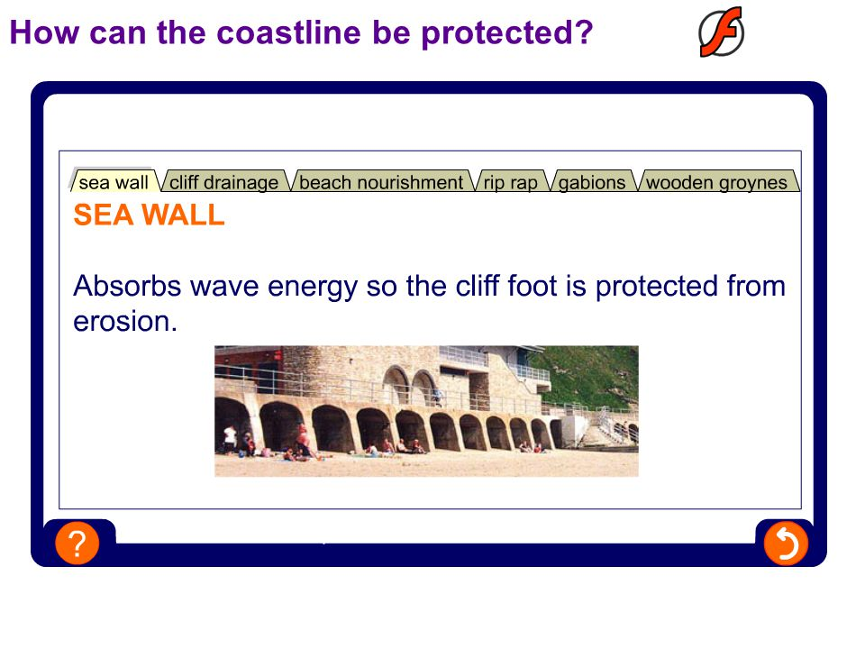 How can the coastline be protected