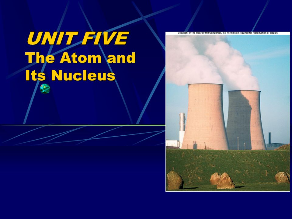 UNIT FIVE The Atom and Its Nucleus