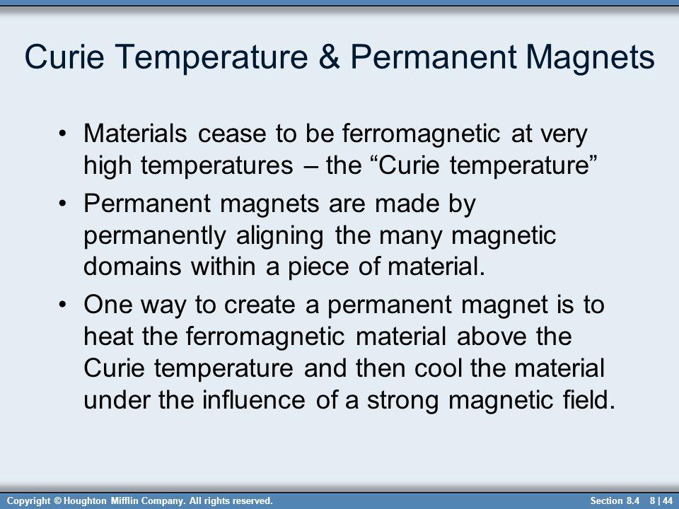 Curie Temperature & Permanent Magnets