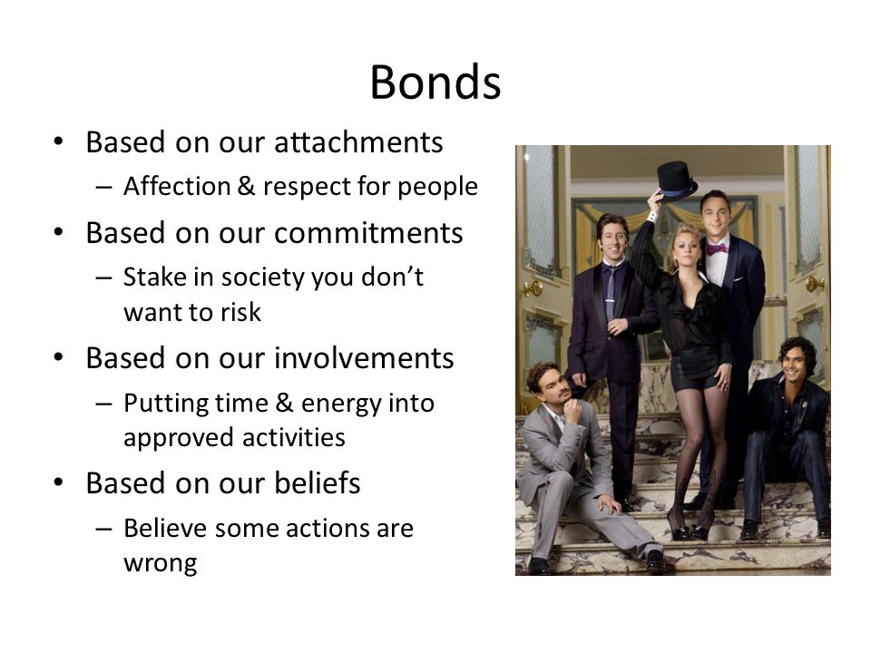 Bonds Based on our attachments Based on our commitments