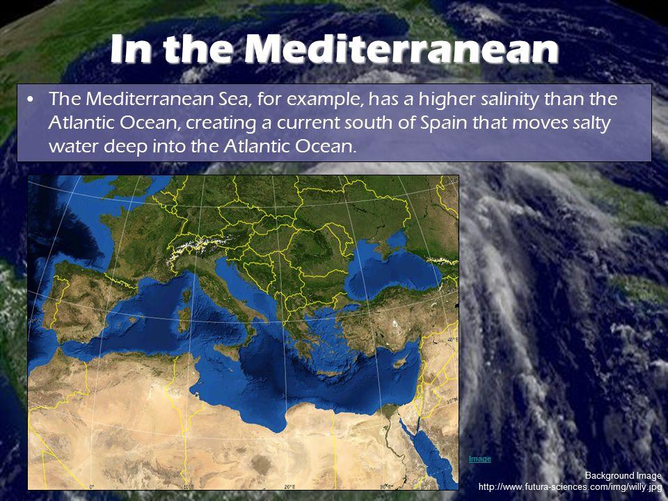 In the Mediterranean