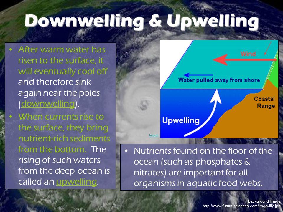 Downwelling & Upwelling