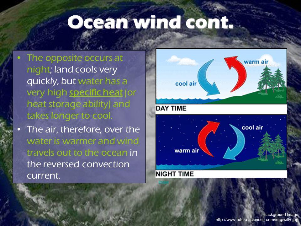 Ocean wind cont.