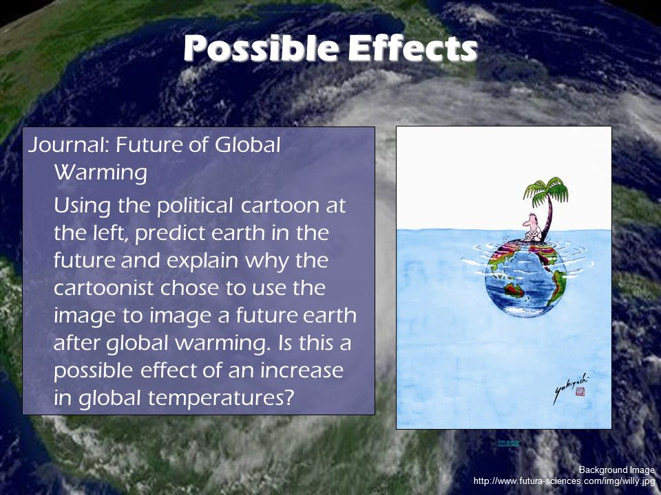 Possible Effects Journal: Future of Global Warming