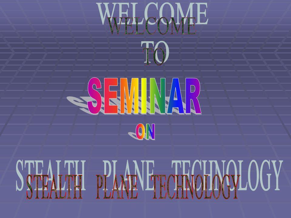 STEALTH PLANE TECHNOLOGY
