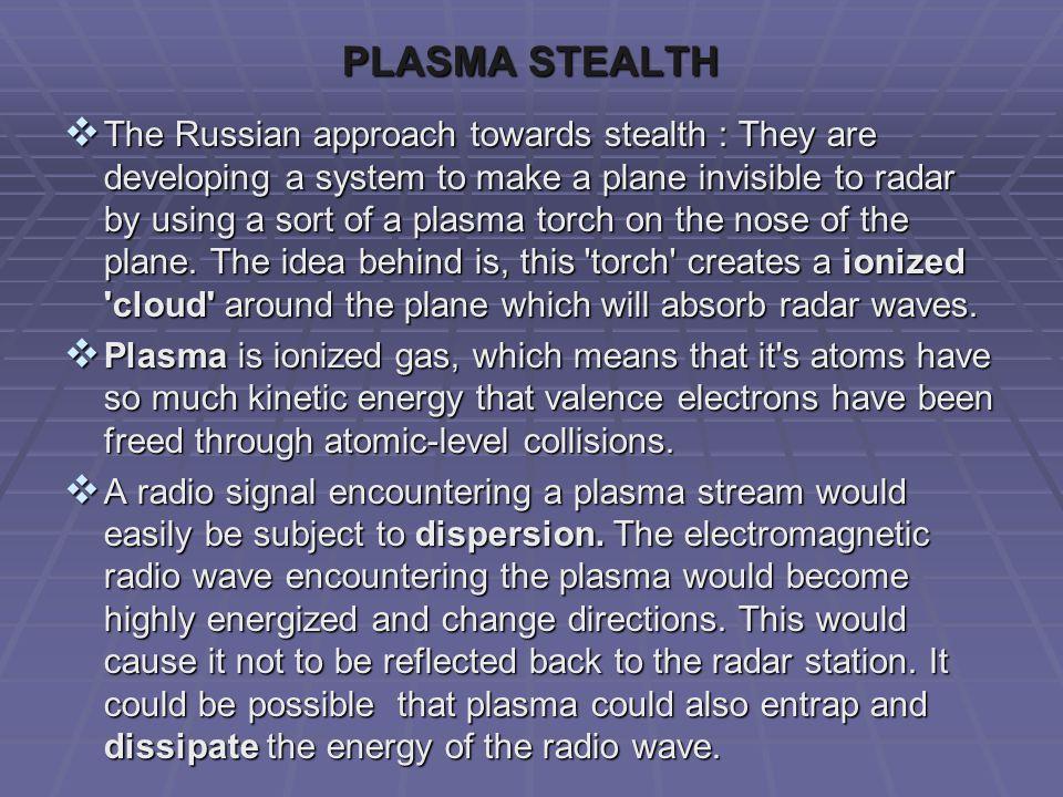 PLASMA STEALTH