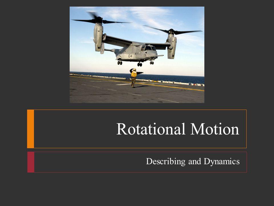 Describing and Dynamics