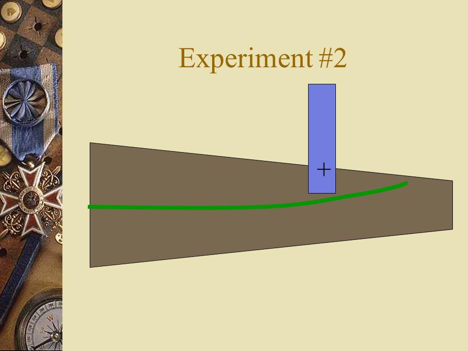 Experiment #2 +