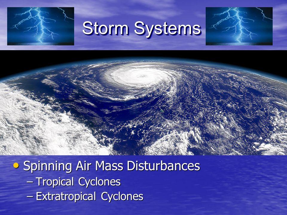 Spinning Air Mass Disturbances