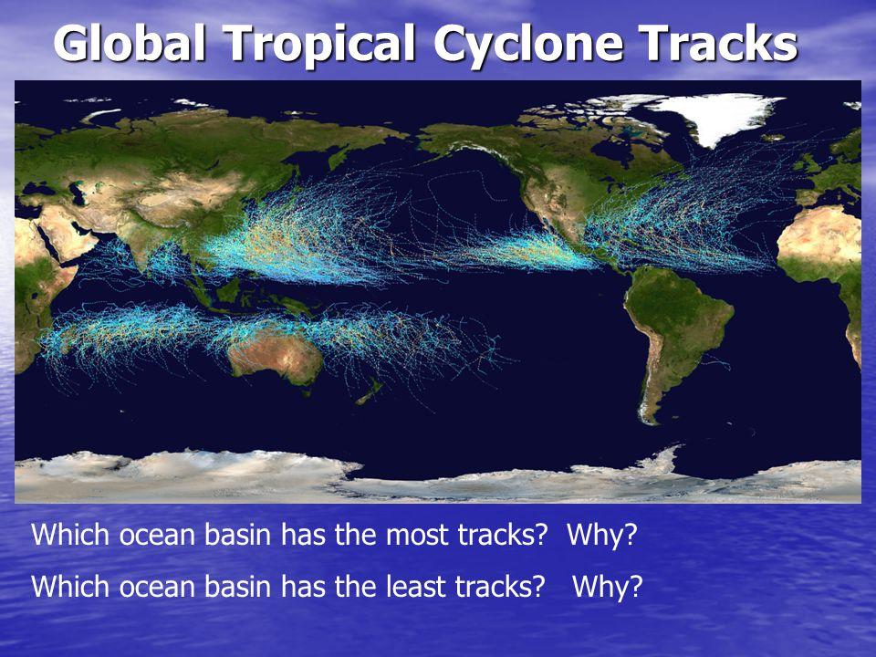 Global Tropical Cyclone Tracks