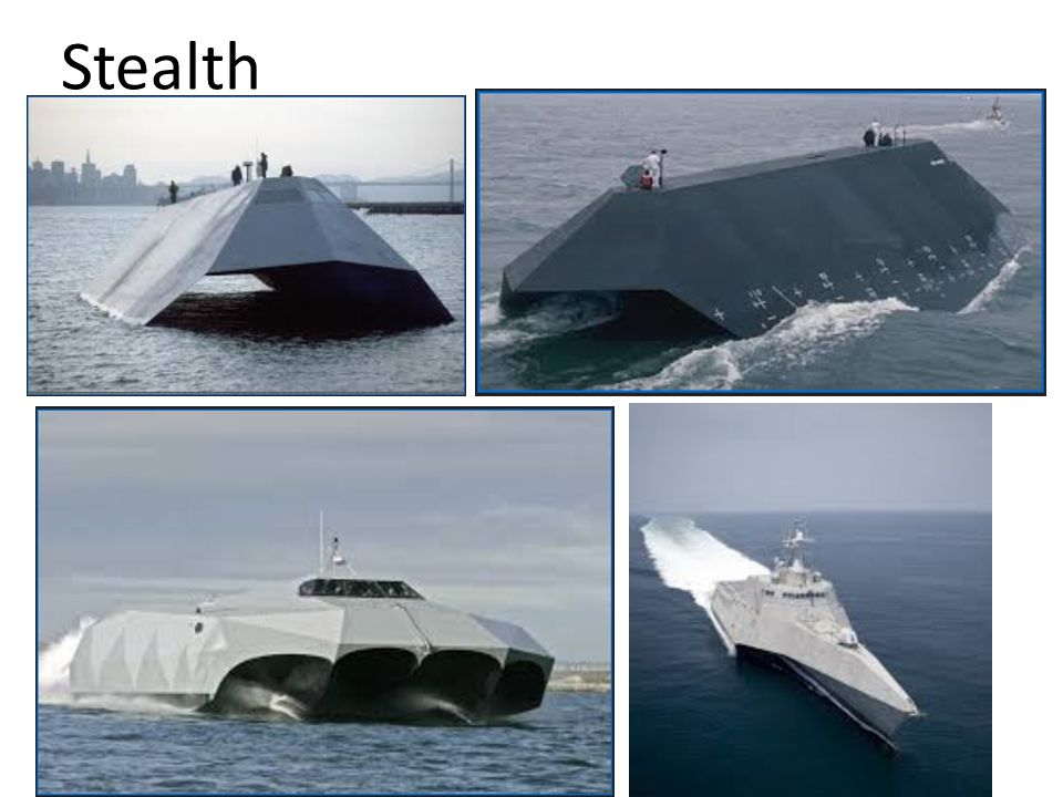 Stealth ships