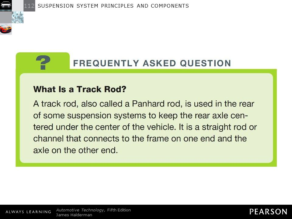 FREQUENTLY ASKED QUESTION: What Is a Track Rod