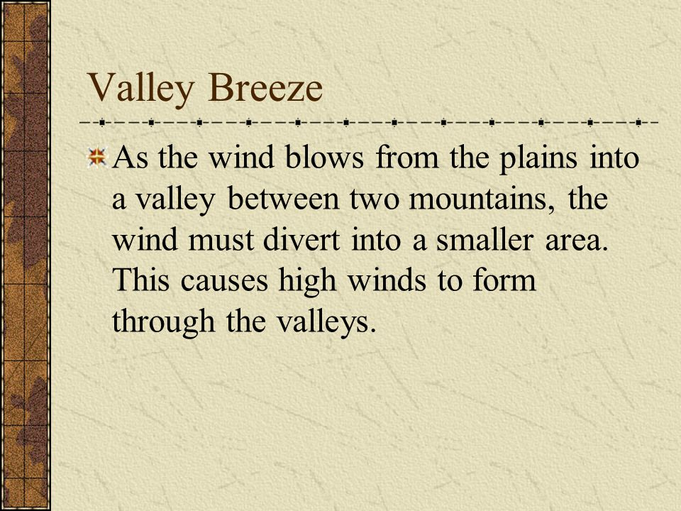Valley Breeze