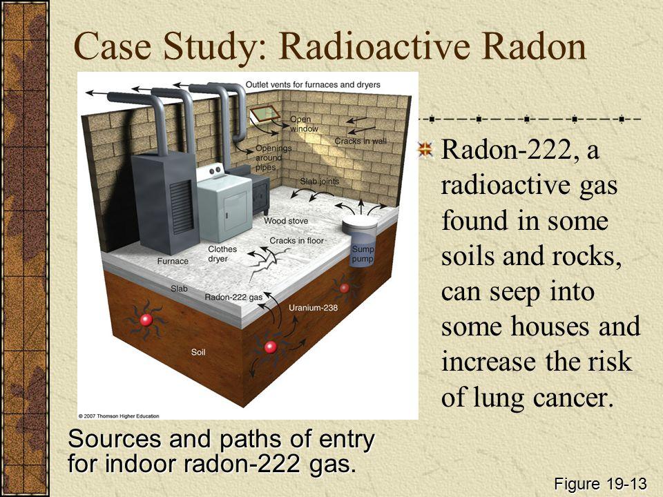 Case Study: Radioactive Radon