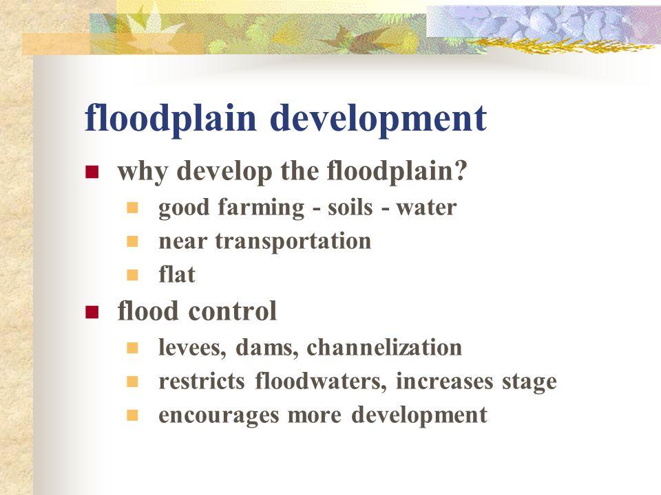 floodplain development