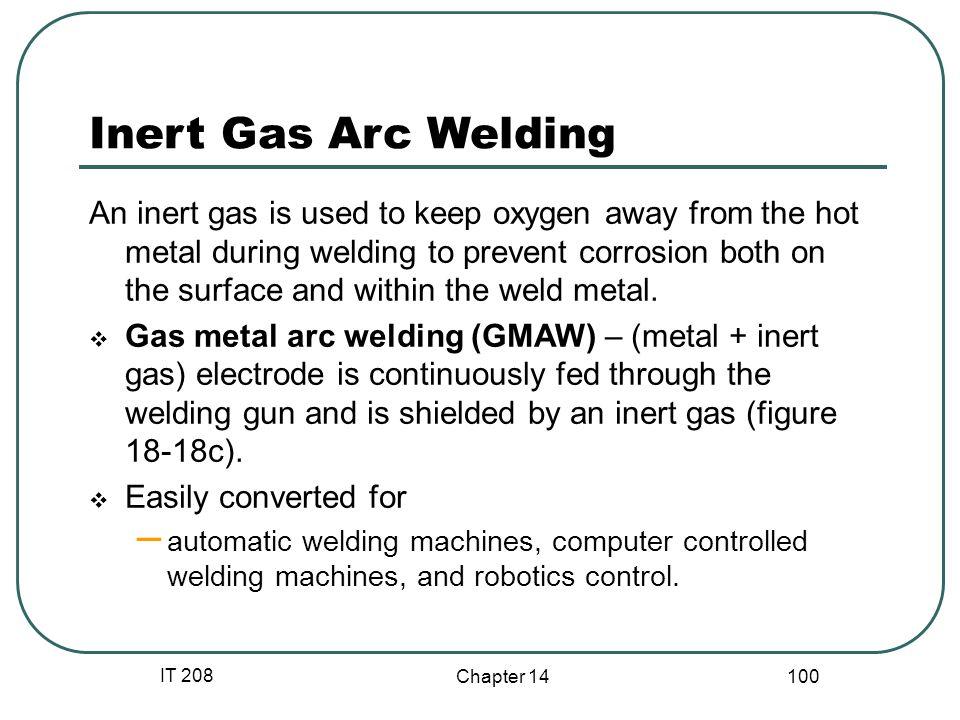 Inert Gas Arc Welding